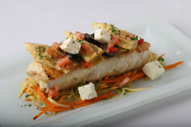 Hot entrees hot fish side dishes tsob tsobe turkish for Side dish with fish